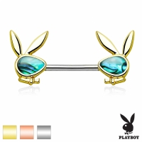 Brustwarzenpiercing - Playboy Rose Gold Brustpiercing...