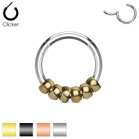 Captive Bead Ring - Piercing Clicker Tragus Helix Closure...