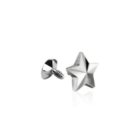 Dermal Anchor - Screw Top Piercing Aufsatz Micro Kugel...