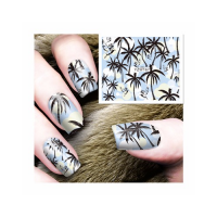 Nail Art Sticker - Nailart Nagelsticker Palmen Sommer...