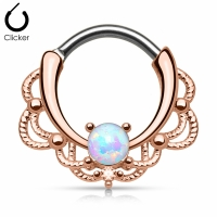 Nasenpiercing - Nasenring Septum Clicker Ring Piercing...