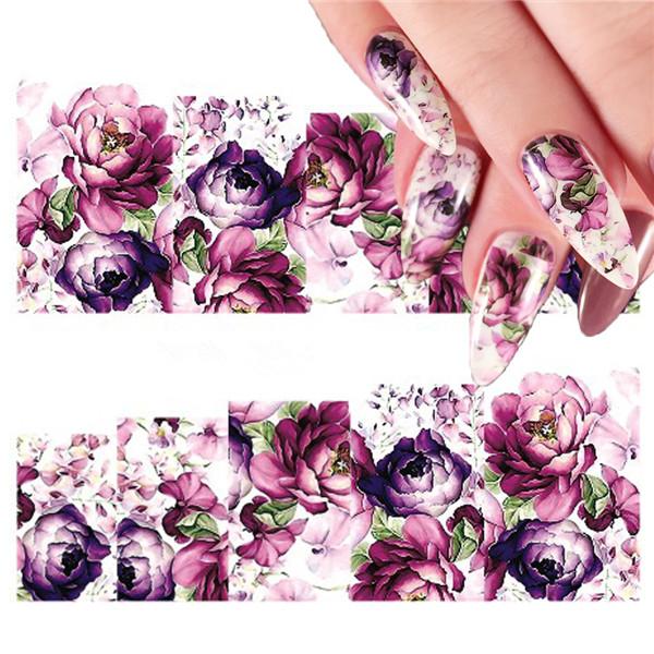 Nail Art Sticker Nailart Roses Rosen Nagelsticker Tattoo Aufkleber